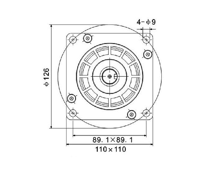 110byg250a110byg250b110byg250c110byg250d 2 Phase Motor